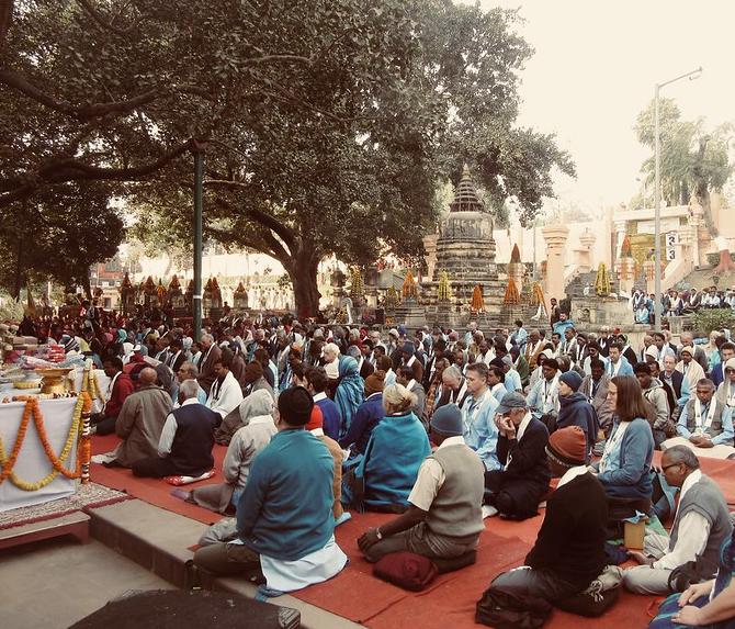 Indiai buddhisták - kutatás