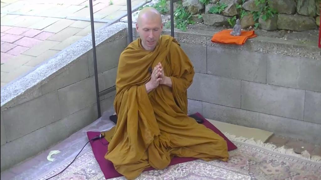 Gambhíró Bhikkhu Dhamma beszéde megtekinthető - ajánló