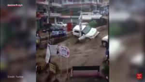 Árvizek és áradások Dharamszalában és környékén